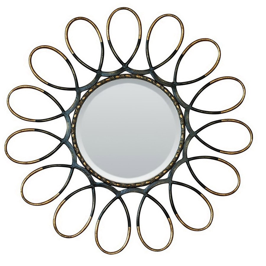 Shop Yosemite Home Decor 41-in W x 41-in H Wrought Iron Round ...