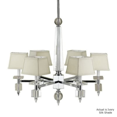 Candice Olson By Af Lighting 6 Light Chrome