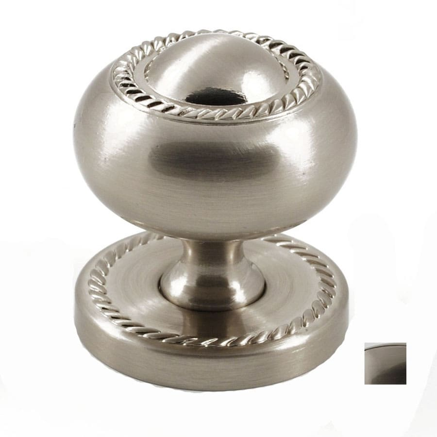 Residential Essentials Satin Nickel Mushroom Cabinet Knob