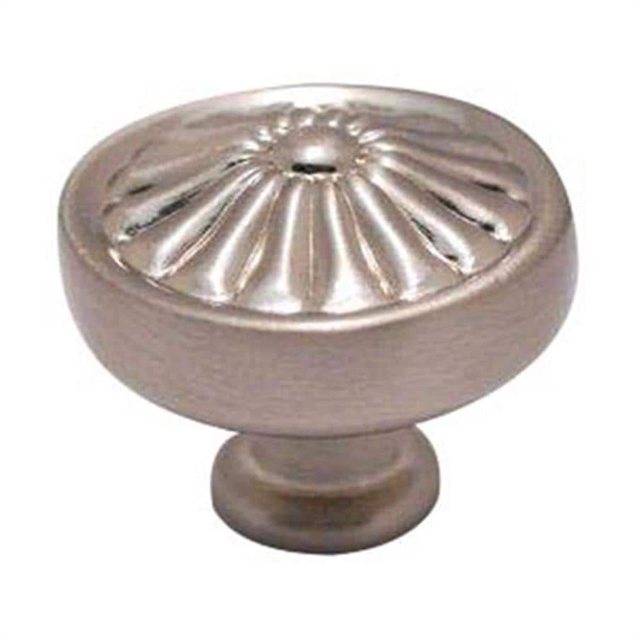 Residential Essentials Residential Essentials Satin Nickel Mushroom Cabinet Knob