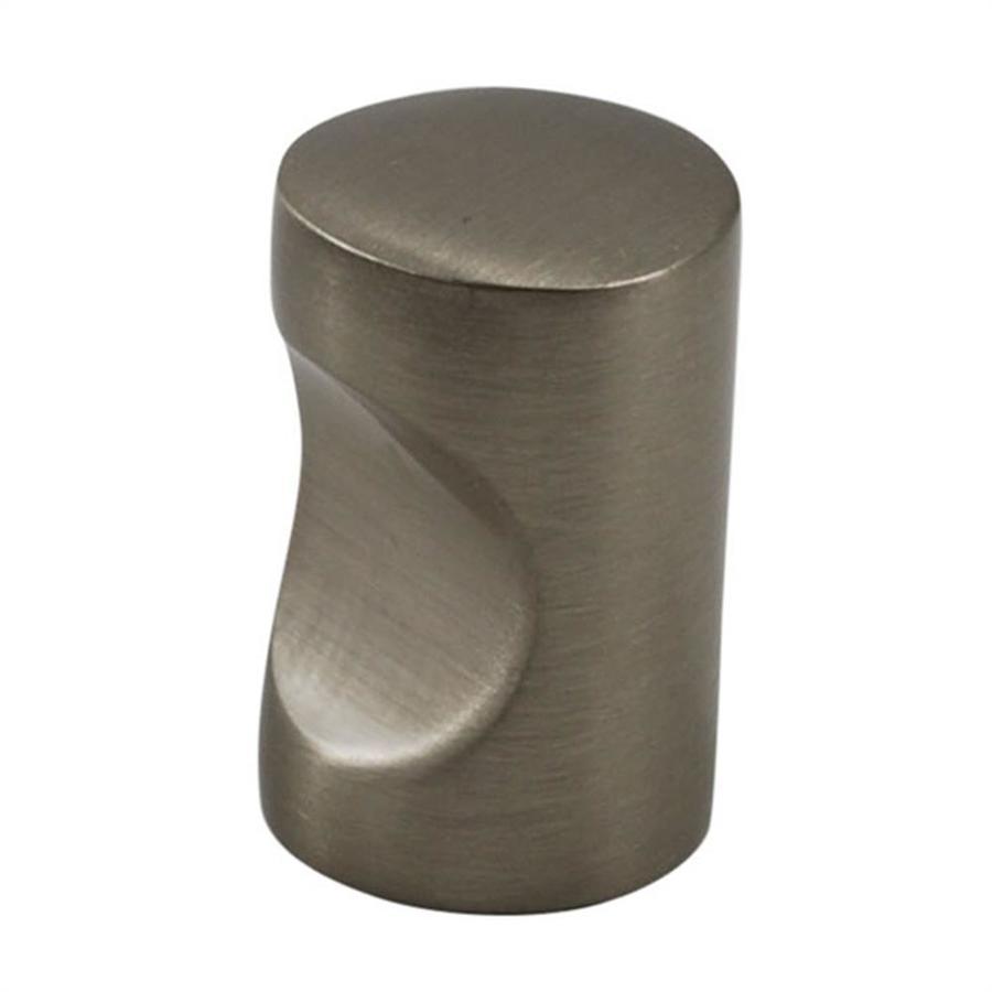 Residential Essentials Satin Nickel Round Cabinet Knob