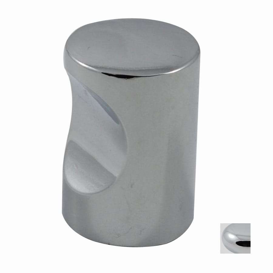 Residential Essentials Polished Chrome Round Cabinet Knob