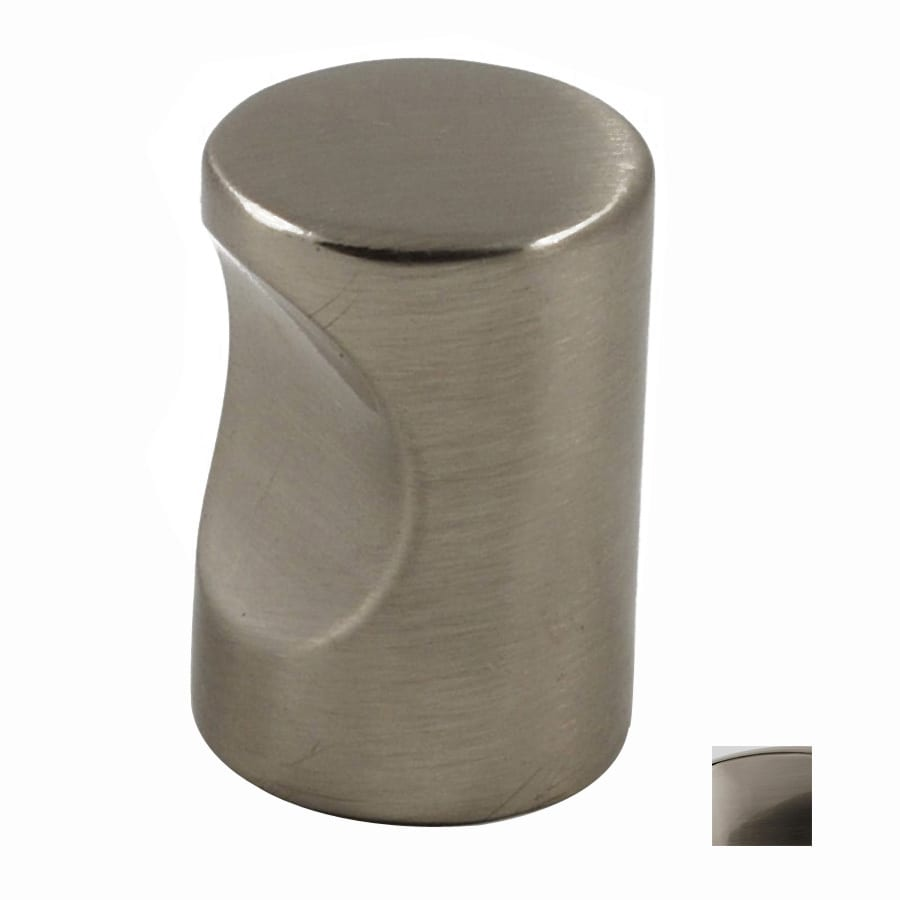 Residential Essentials Satin Nickel Round Cabinet Knob
