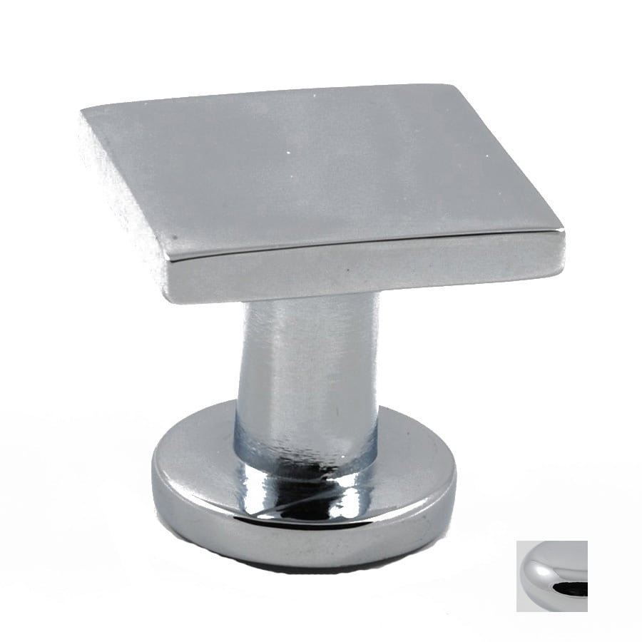 Beau Residential Essentials Polished Chrome Square Cabinet Knob