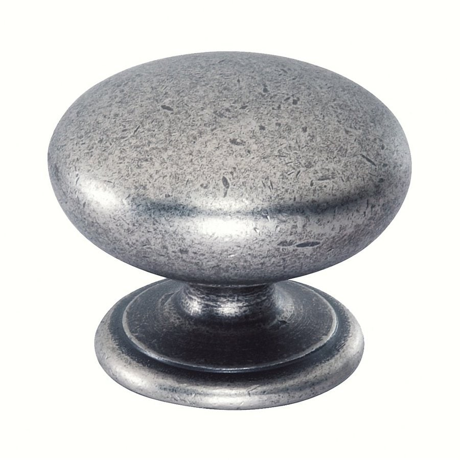 Siro Designs Lancaster Antique Iron Round Cabinet Knob