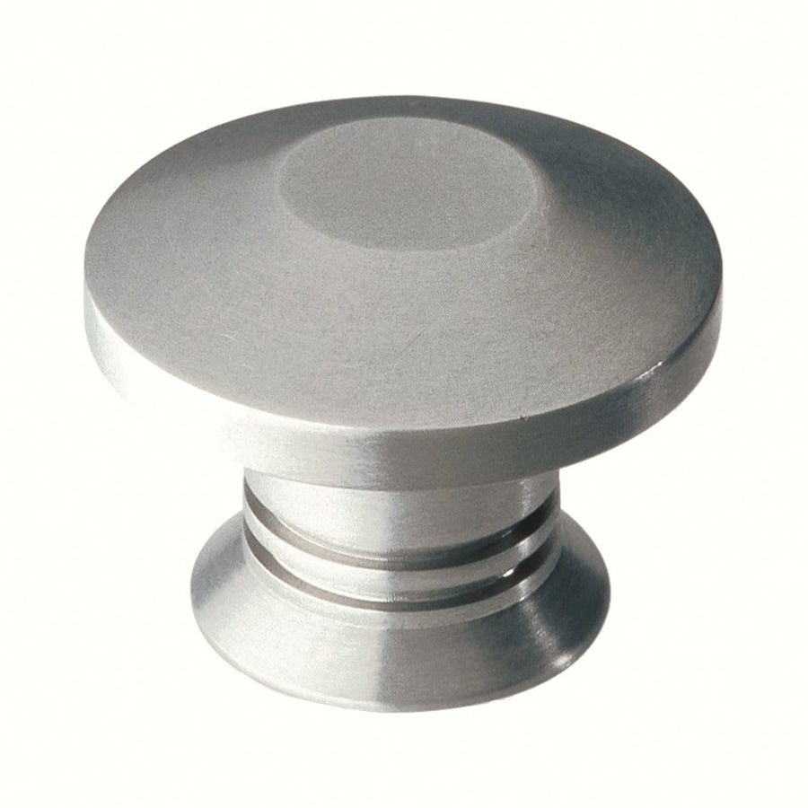 Brushed Stainless Steel Kitchen Cabinet Pulls: Shop Siro Designs Stainless Steel Fine Brushed Stainless