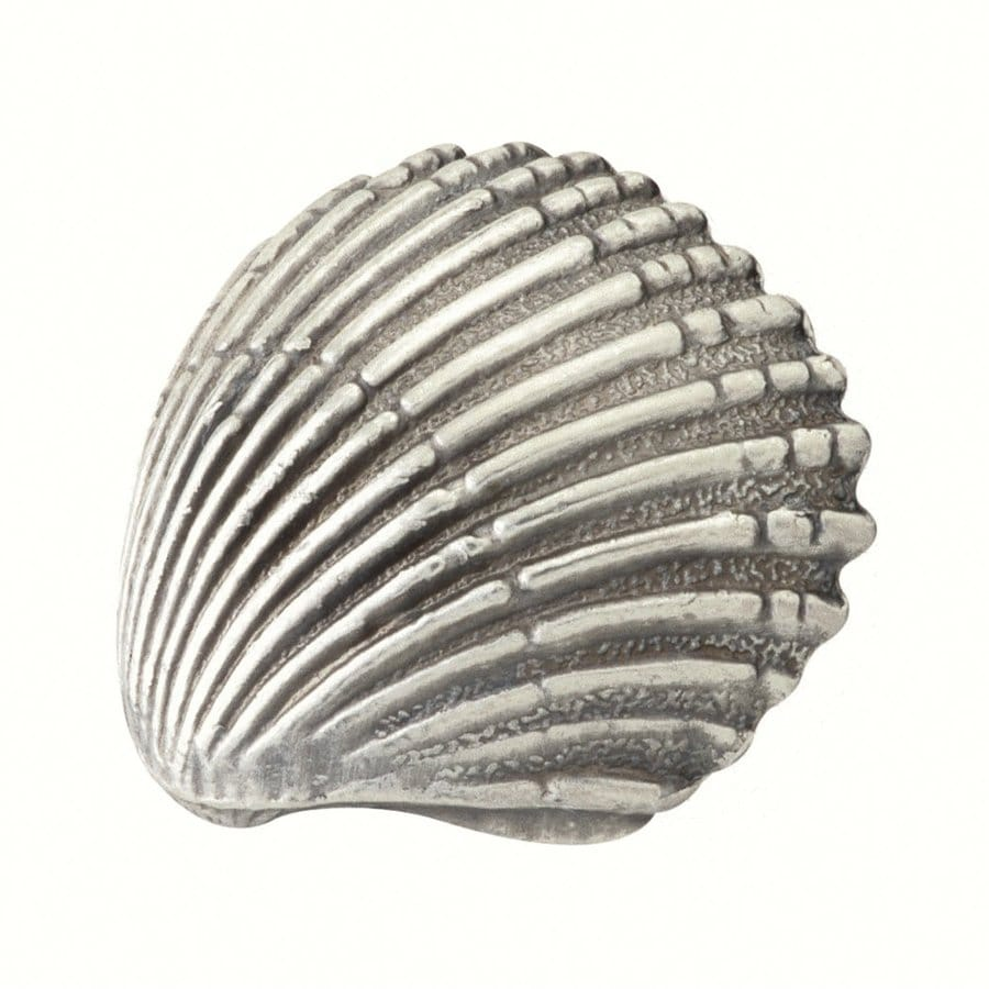 Siro Designs Ocean Line Antique Pewter Novelty Cabinet Knob