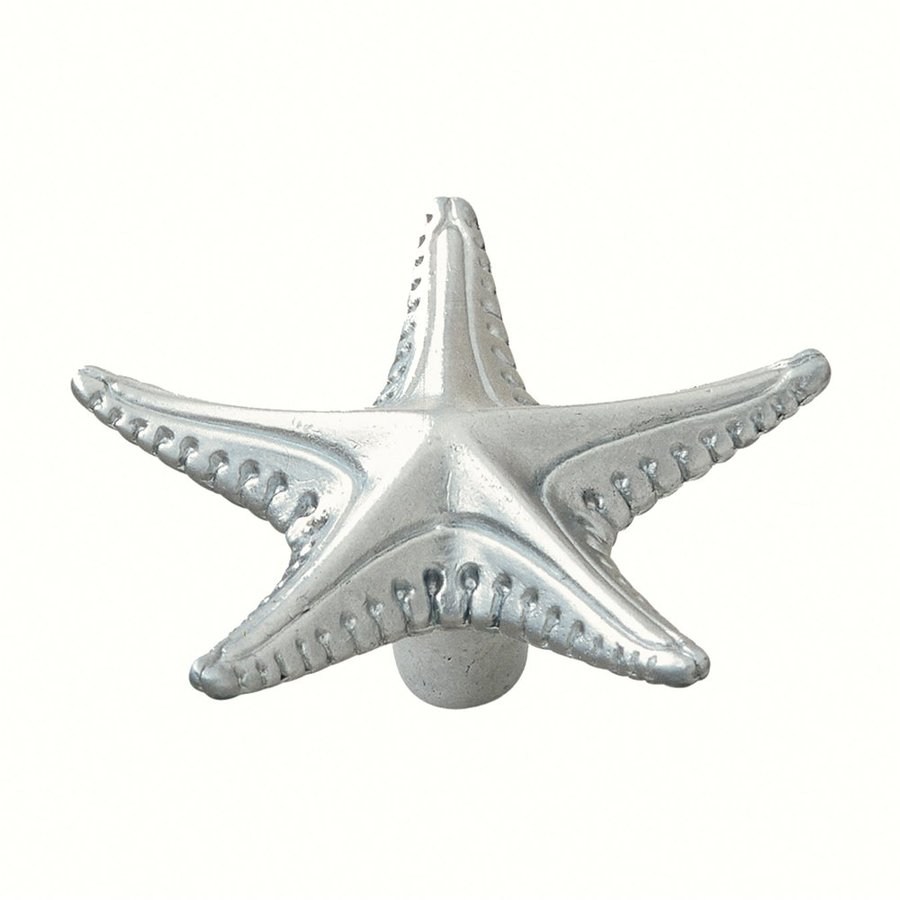 Siro Designs Ocean Line Matte Chrome Novelty Cabinet Knob