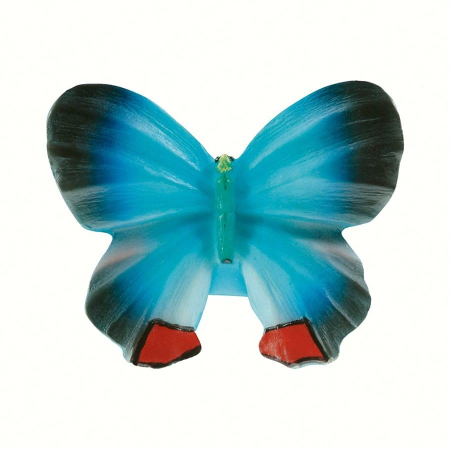 Siro Designs Butterflies Blue/Navy/Red Novelty Cabinet Knob