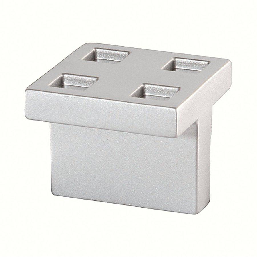 Siro Designs Milan Matte Aluminum Square Cabinet Knob