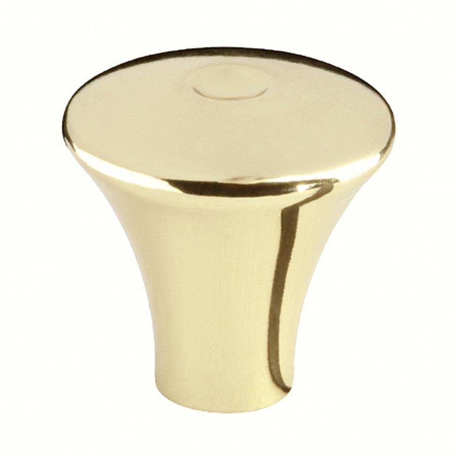 Siro Designs Milan Bright Brass Round Cabinet Knob