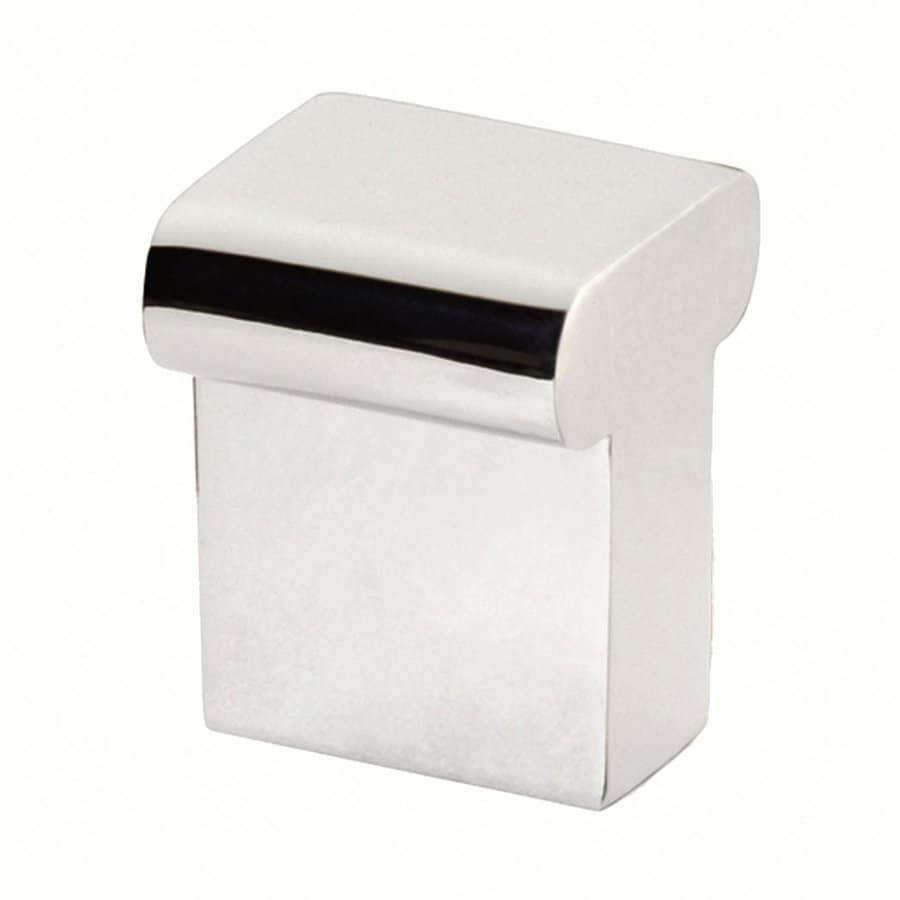 Siro Designs Milan Bright Chrome Square Cabinet Knob