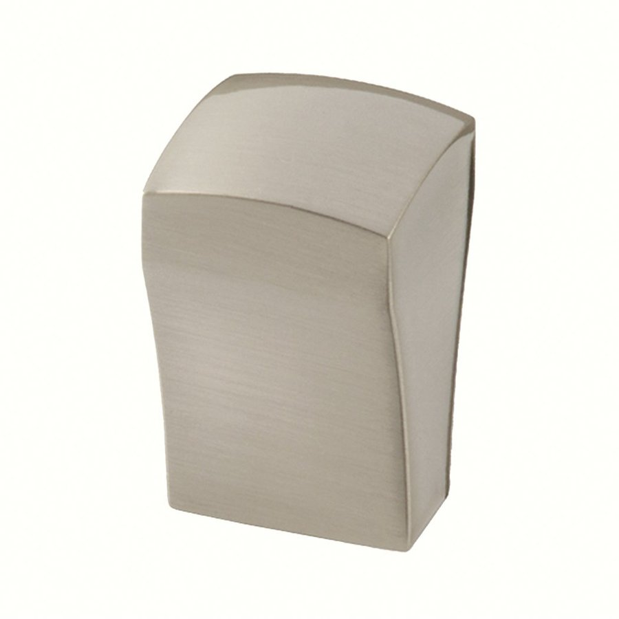 Siro Designs Milan Fine Brushed Nickel Square Cabinet Knob