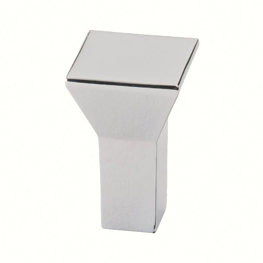 Siro Designs Eos Bright Chrome Square Cabinet Knob