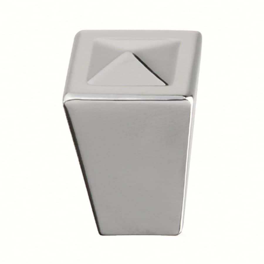 Siro Designs Merida Bright Chrome Square Cabinet Knob