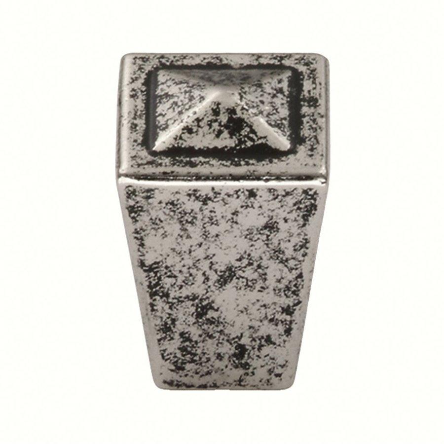 Siro Designs Merida Antique Pewter Square Cabinet Knob