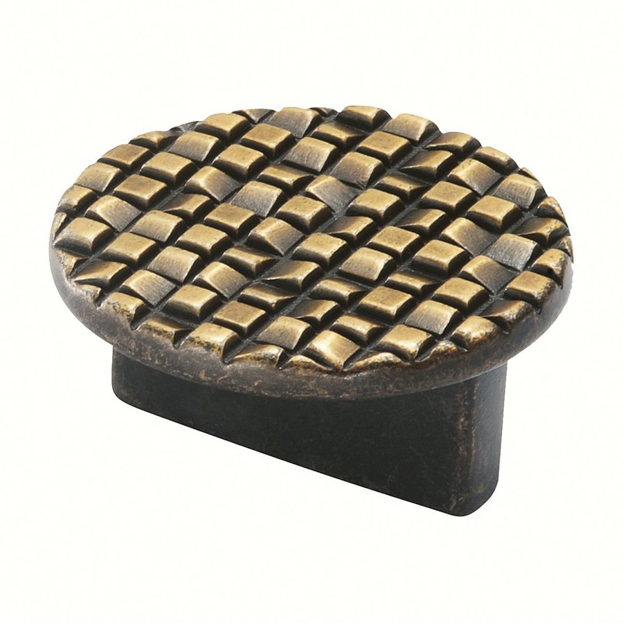 Siro Designs Mosaic Antique French Bronze Round Cabinet Knob