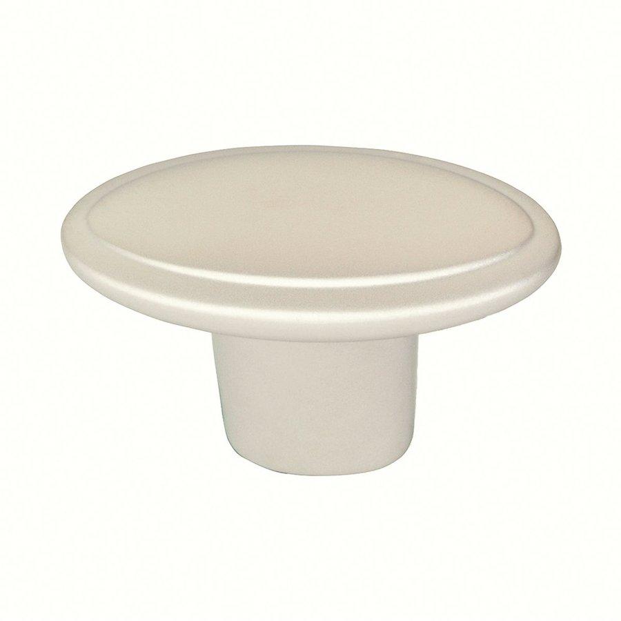 Siro Designs Belle Epoque Matte Nickel Round Cabinet Knob