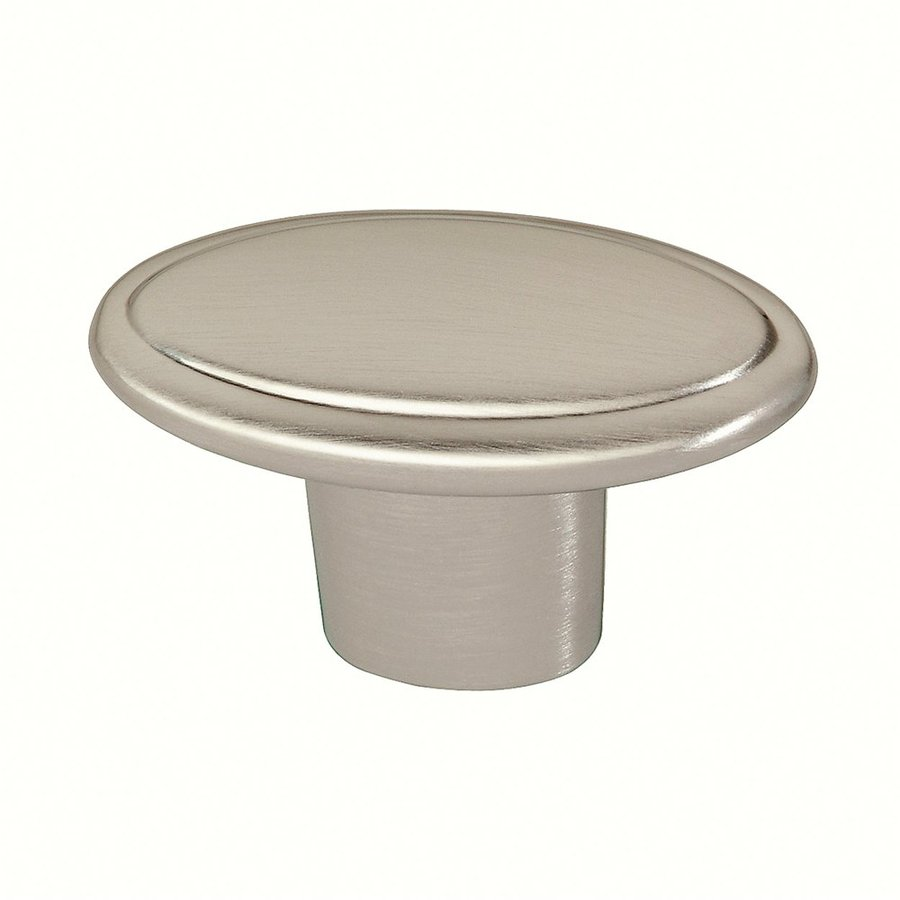 Siro Designs Belle Epoque Fine Brushed Nickel Round Cabinet Knob