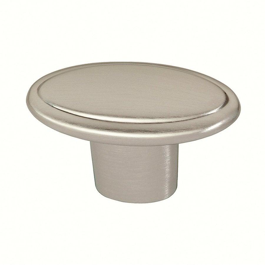 Siro Designs Belle Epoque Fine Brushed Nickel Round Cabinet Knob