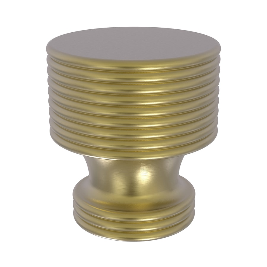 Allied Brass Allied Brass G-1 Satin Brass Round Designer Cabinet Knob