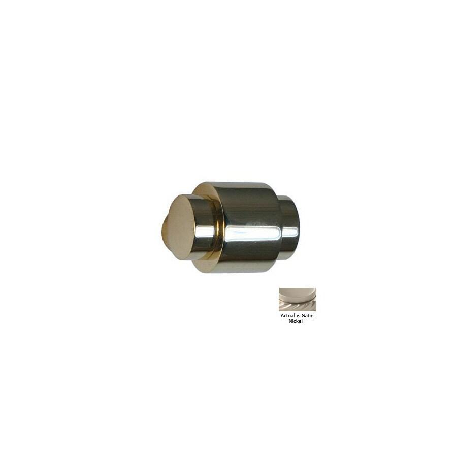 Allied Brass Allied Brass Satin Nickel Round Cabinet Knob