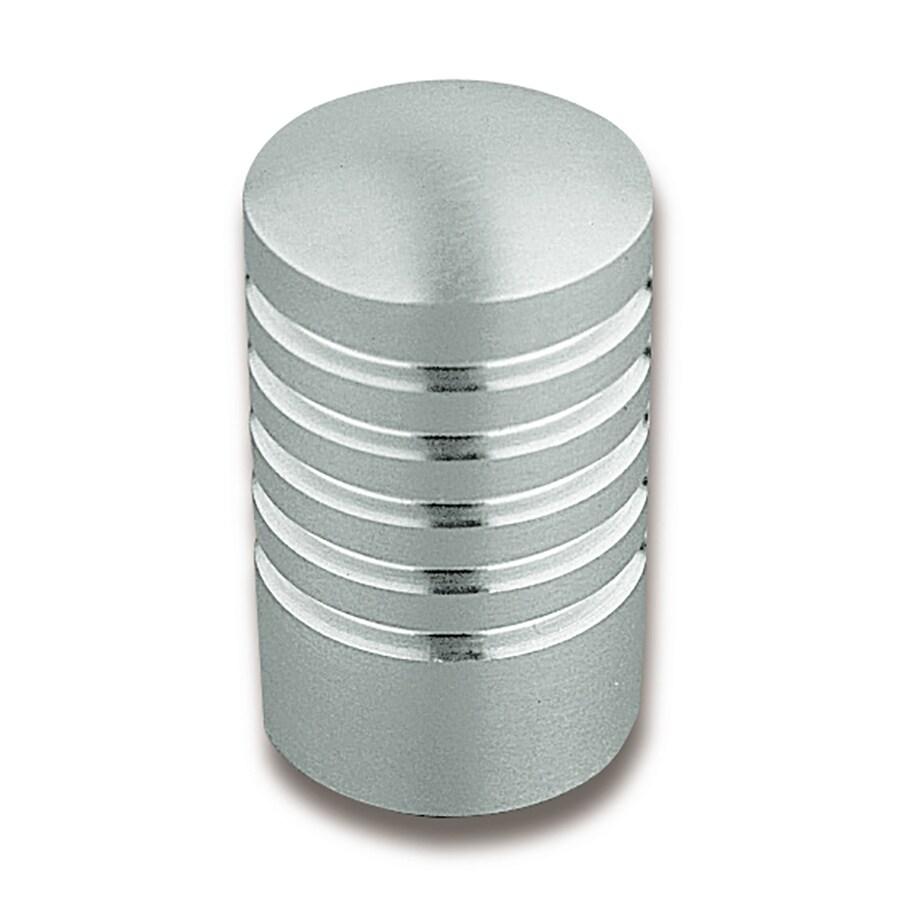 Sugatsune Lines Satin Stainless Steel Round Cabinet Knob