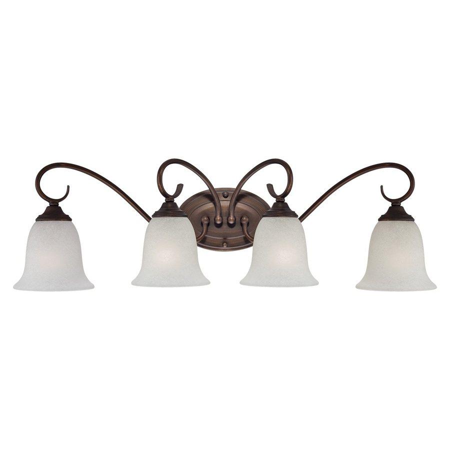 Millennium Lighting 4-Light Rubbed Bronze Vanity Light