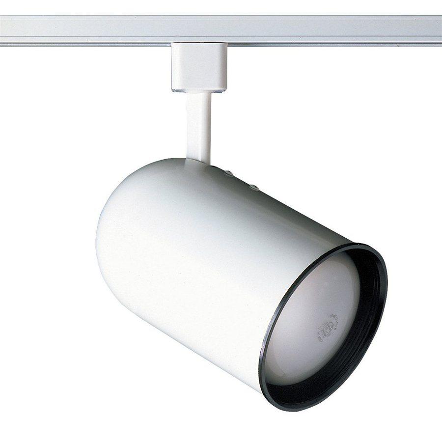 Cal Lighting 1 Light White Roundback Linear Track Head