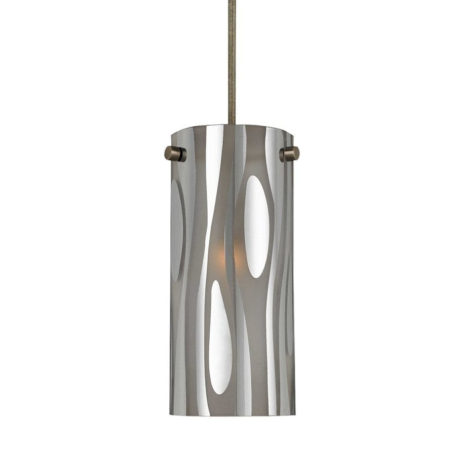 Cal Lighting 4.2-in Industrial Mini Cylinder Pendant