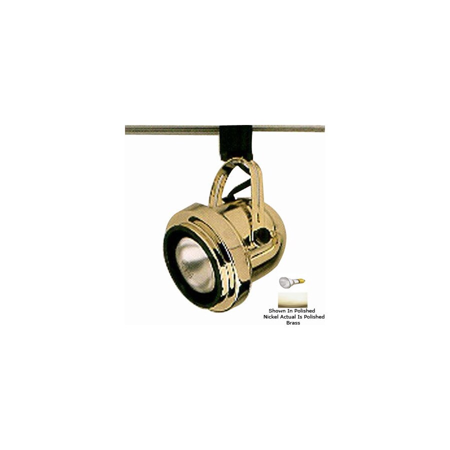 Shop PLC Lighting Polished Brass 3Wire Connection Roundback