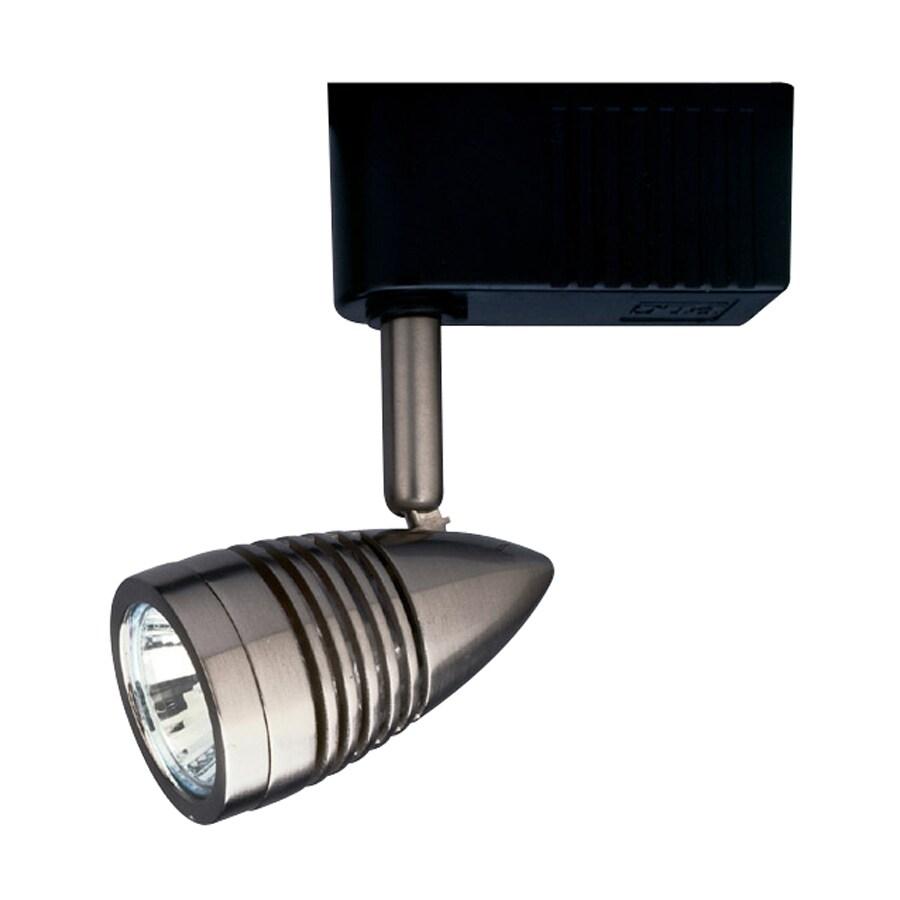 PLC Lighting 1-Light Dimmable Satin Nickel Linear Track Lighting Head