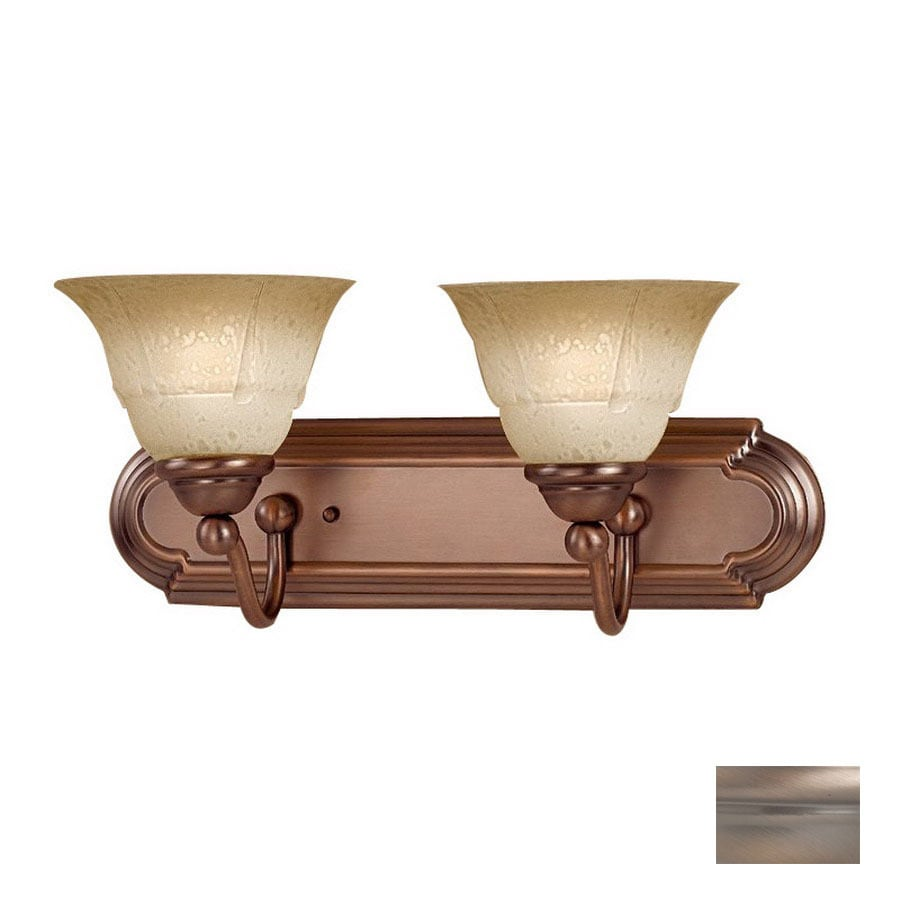 Classic Lighting 2 Light Providence Antique Copper Bathroom Vanity Light In The Vanity Lights Department At Lowes Com