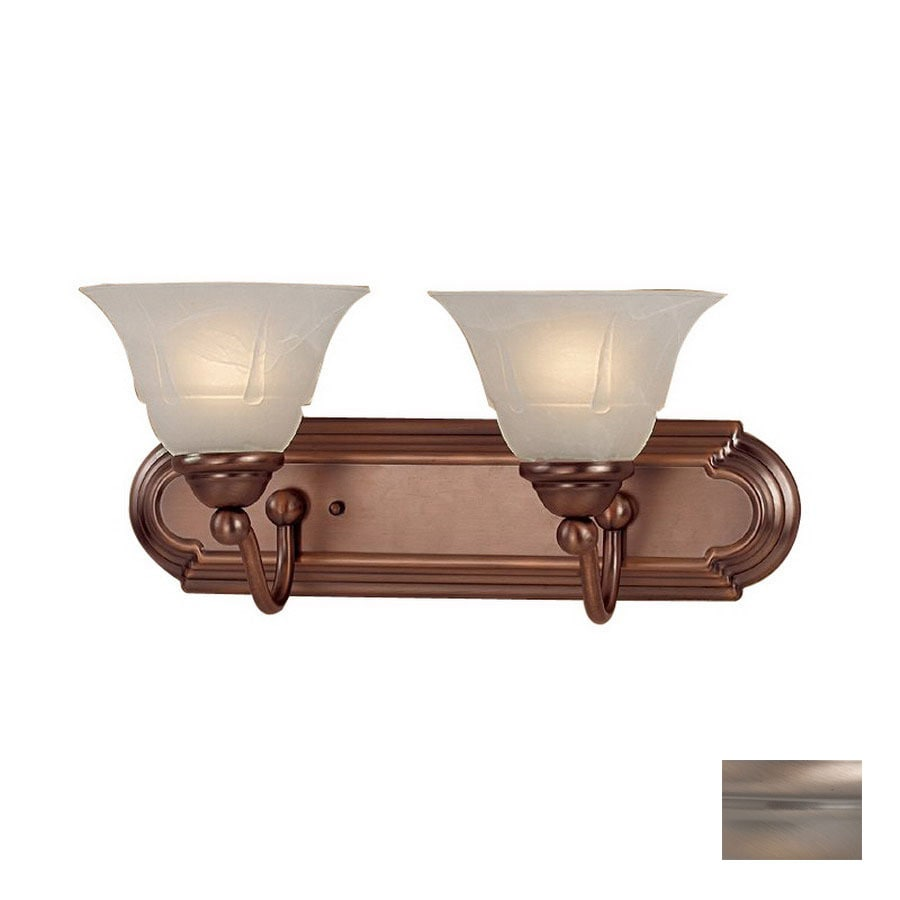 Clic Lighting 2 Light Providence Antique Copper Bathroom Vanity