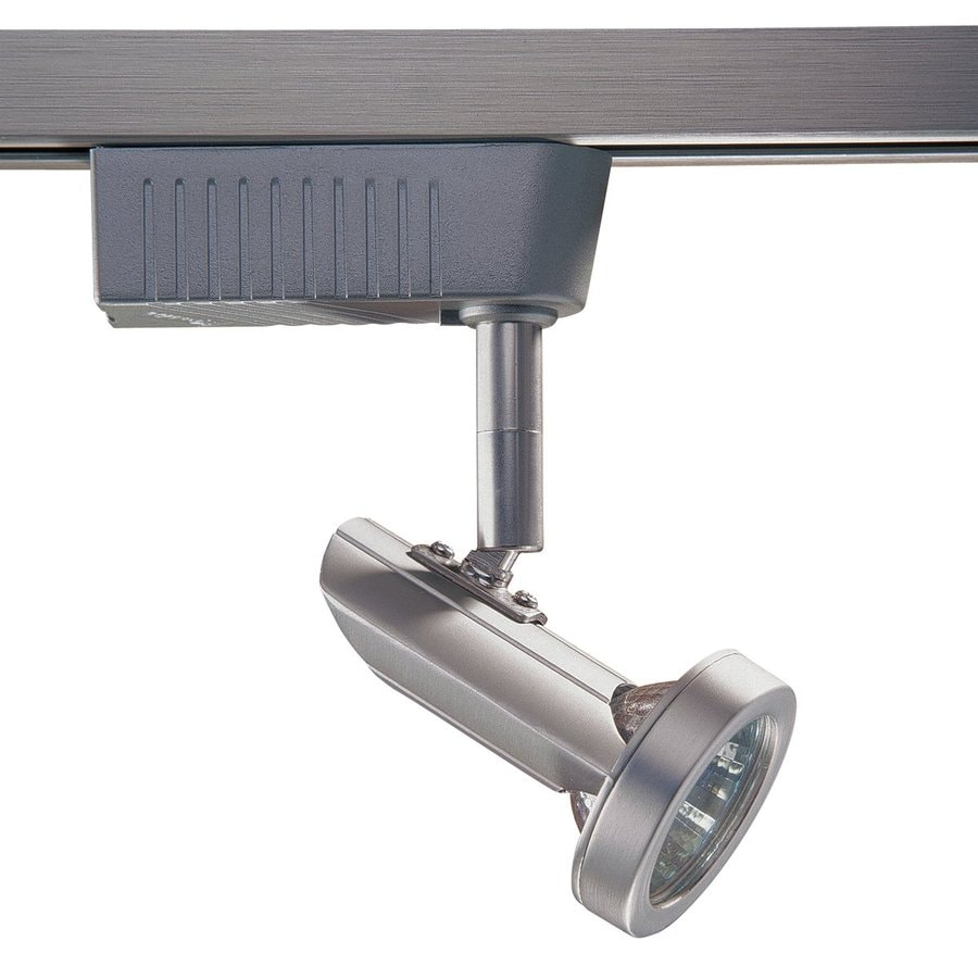 Kendal Lighting 1-Light Dimmable Brushed Steel Step Linear Track Lighting Head