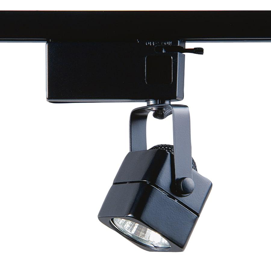Kendal Lighting 1-Light Dimmable Black Pinhole Linear Track Lighting Head