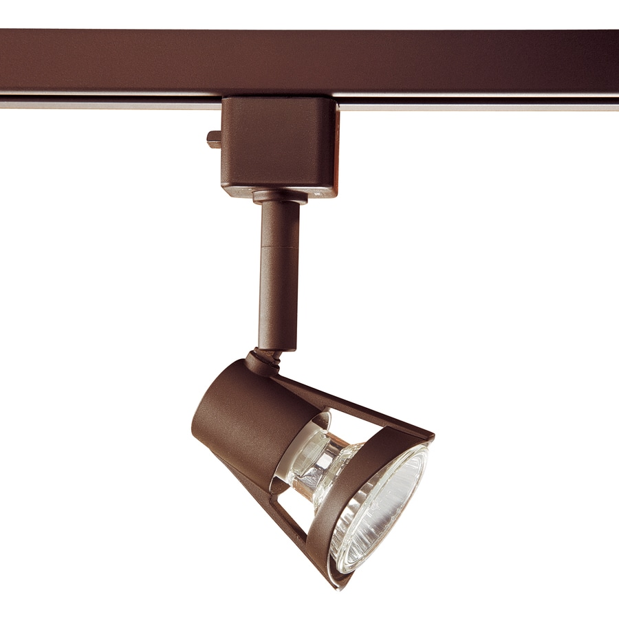 Kendal Lighting 1-Light Dimmable Oil Rubbed Bronze Step Linear Track Lighting Head