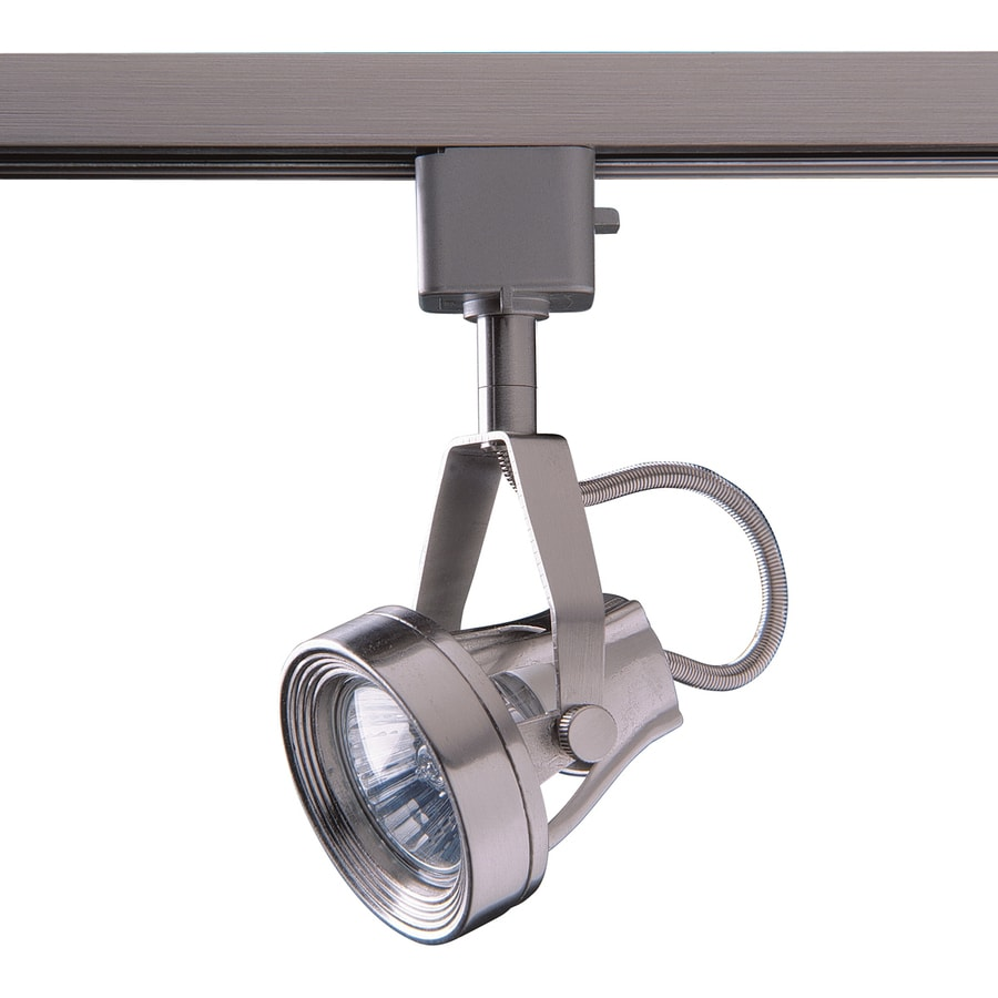 Kendal Lighting 1-Light Dimmable Satin Nickel Step Linear Track Lighting Head