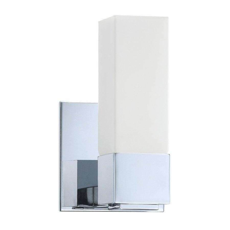 Kendal Lighting Madison 1-Light Chrome Rectangle Vanity Light