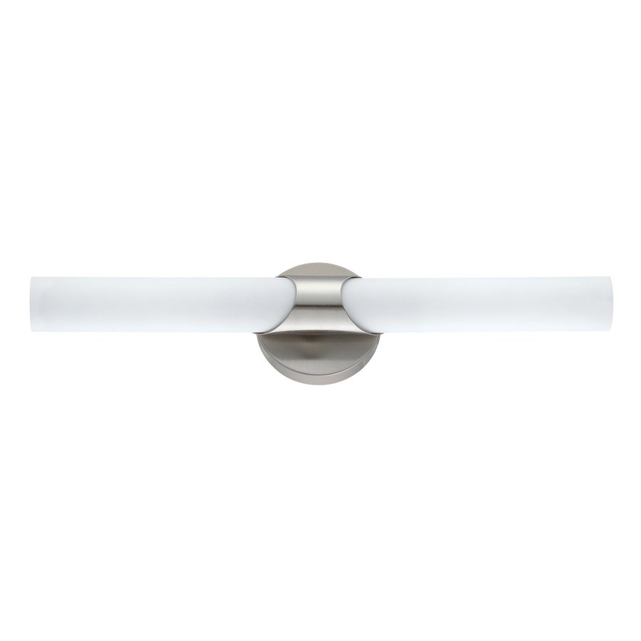Kendal Lighting Alina 2-Light Satin Nickel Vanity Light
