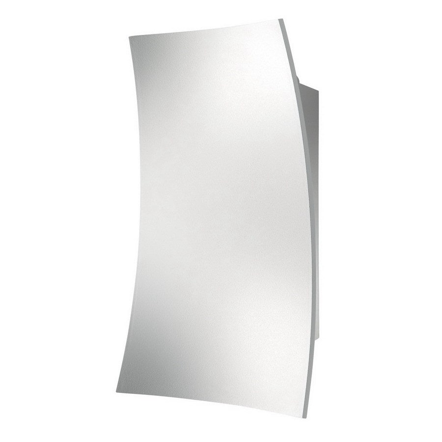 Philips Ledino 5-in W 1-Light White Pocket Hardwired Wall Sconce