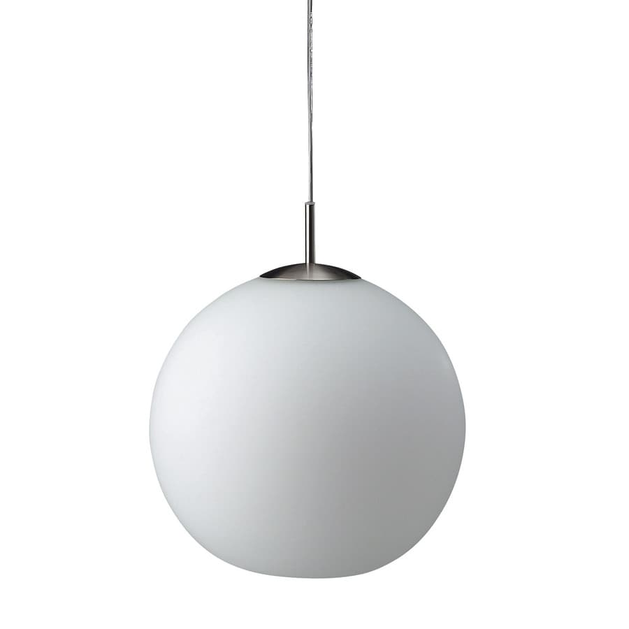 Shop Philips Roomstylers 11.8-in Matte Chrome Globe