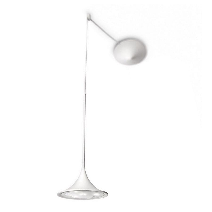 Philips 8-3/8-in W Ledino White Mini Pendant Light with Metal Shade