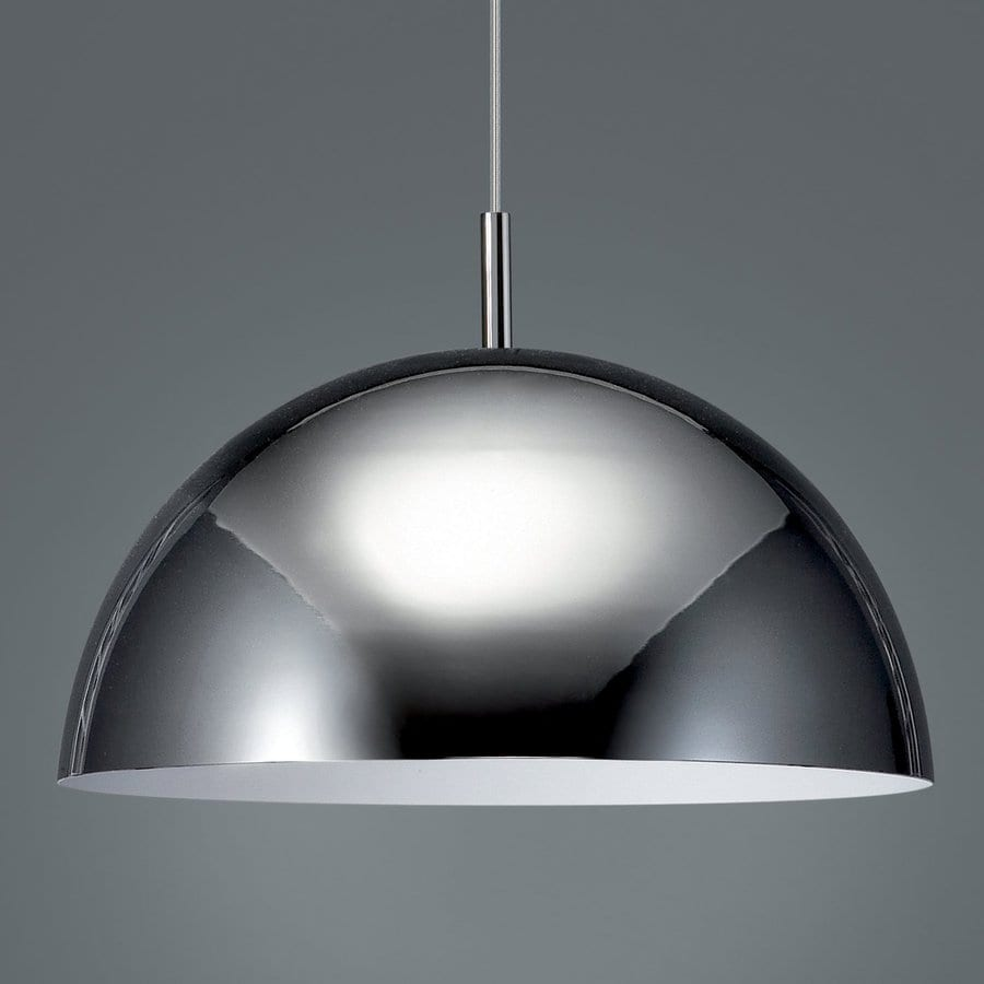 Philips Wall Hanging Lights : Shop Philips Roomstylers 15.7-in Chrome Industrial Dome Pendant at Lowes.com