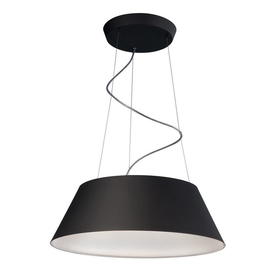 Philips 23-3/8-in W Ledino Black Pendant Light