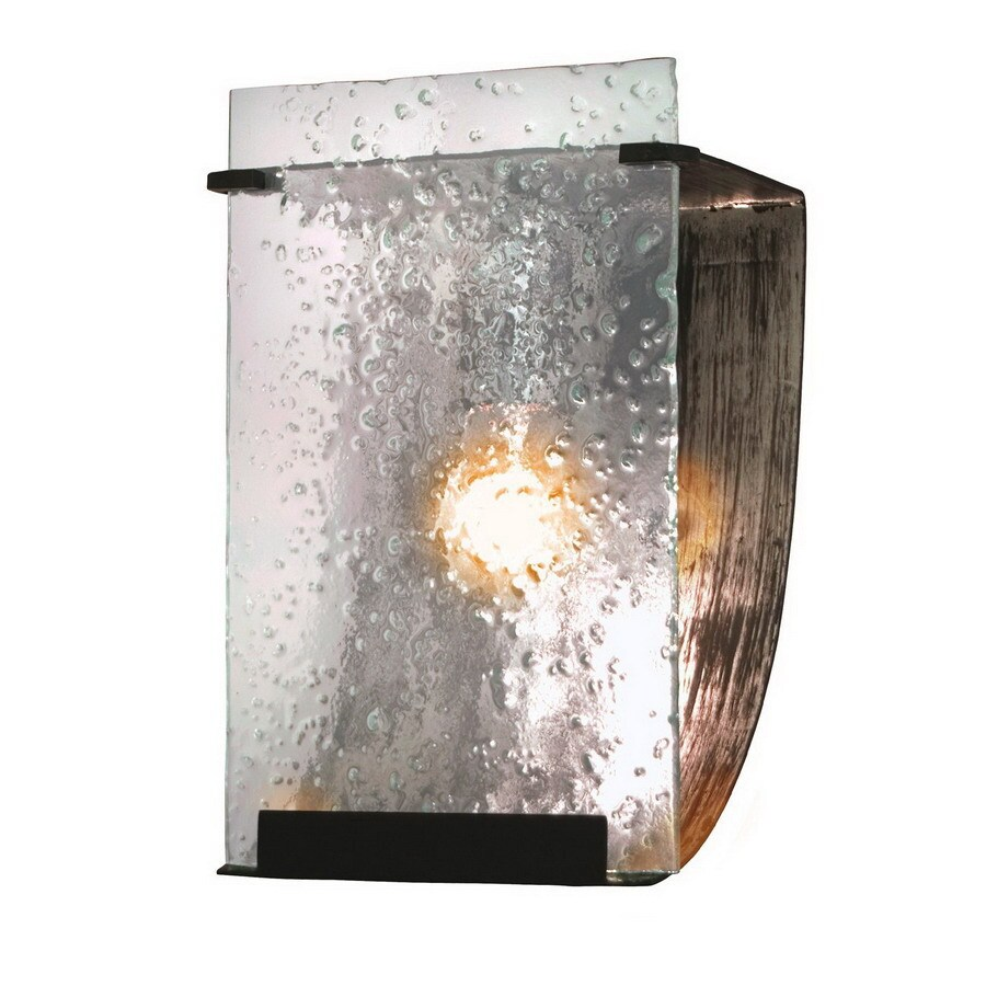 Varaluz Rain 7-in W 1-Light Rainy night Pocket Wall Sconce