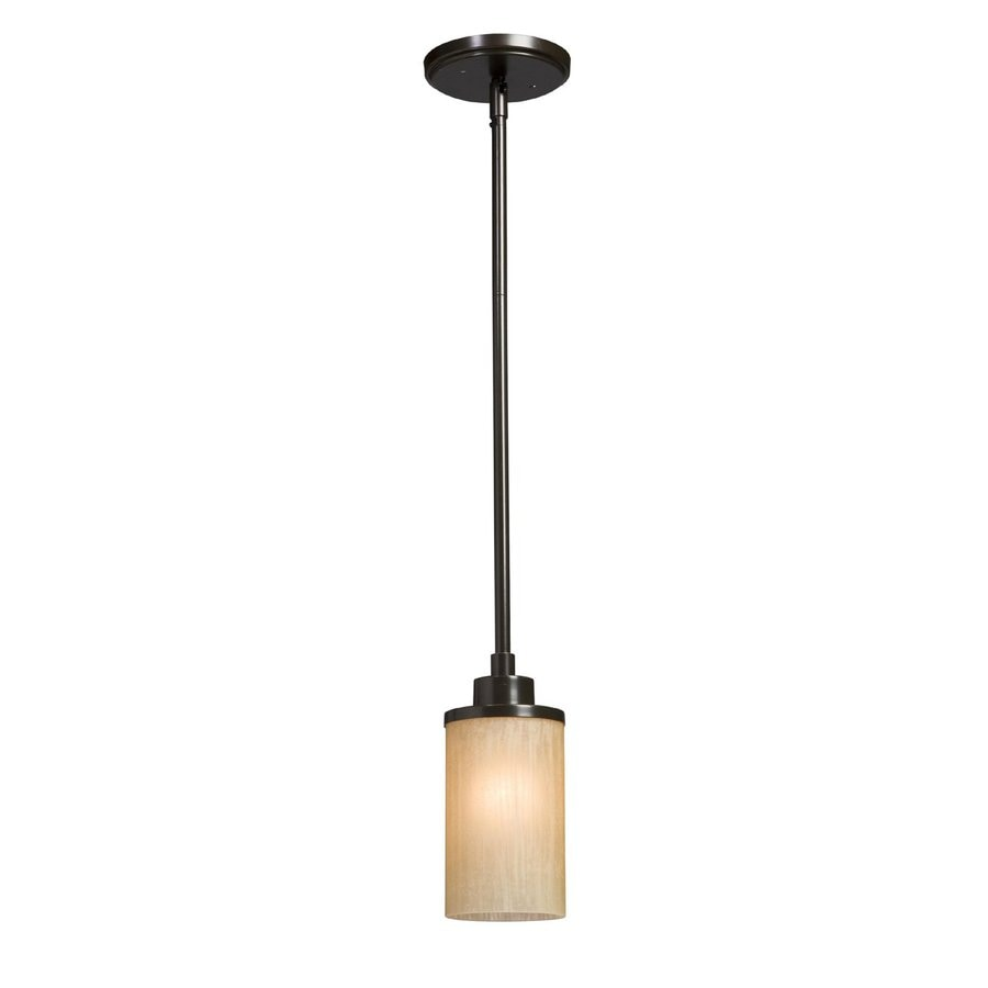 Artcraft Lighting Parkdale 5-in Oil-Rubbed Bronze Mini Cylinder Pendant  sc 1 st  Loweu0027s & Shop Artcraft Lighting Parkdale 5-in Oil-Rubbed Bronze Mini Cylinder ...