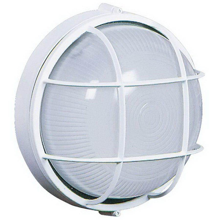 Artcraft Lighting Marine 10-in White Outdoor Wall Light