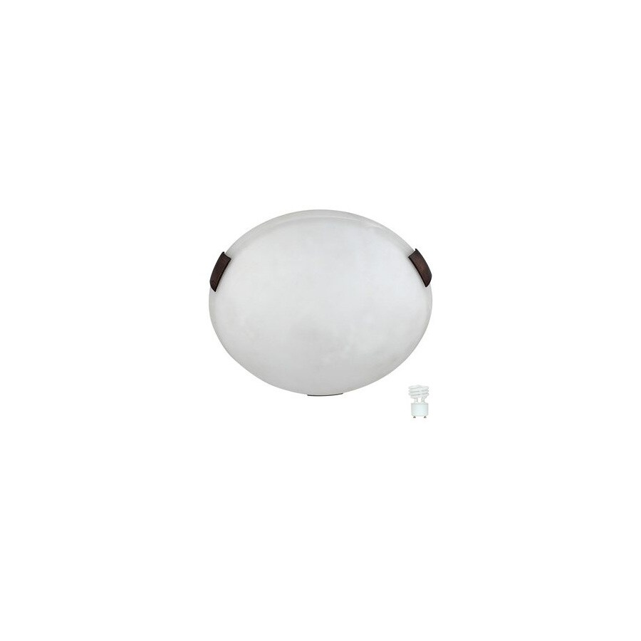 Whitfield Lighting 12-in W Oil-Rubbed Bronze Ceiling Flush Mount