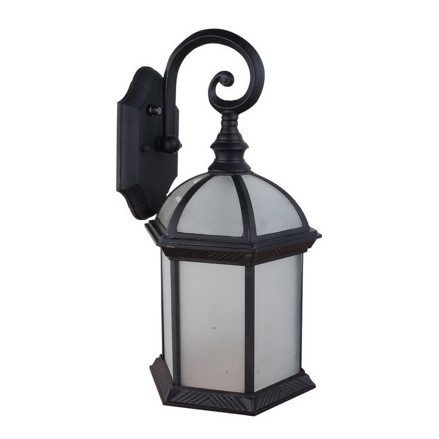 Whitfield Lighting 16-in Black Outdoor Wall Light ENERGY STAR